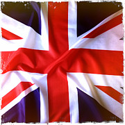 Union Jack Photos - Union Jack by Les Cunliffe