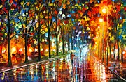 Leonid Afremov - Unreal Senses
