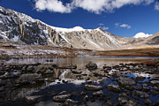Colorado Mountains Prints - Upper Mohawk Lake Print by Michael J Bauer