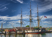 Warships Photos - USS Constitution by Joann Vitali