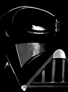 Darth Vader Framed Prints - Vader Framed Print by Dale Loos Jr