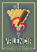 Vector Prints - Valencia Print by Gary Grayson