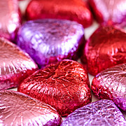 Candies Photos - Valentine hearts by Elena Elisseeva