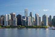 Volodymyr Kyrylyuk - Vancouver Skyline