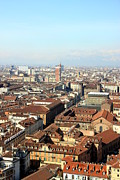 Turin Prints - View of Turin Print by Valentino Visentini