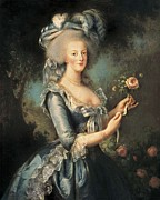 Portrait With Dress Posters - Vigee-lebrun, Elisabeth 1755-1842 Poster by Everett