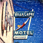 Villa Mixed Media - Villa Capri by Glenn McNary