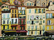 South Of France Painting Originals - Villefranche Encore by Rex Maurice Oppenheimer