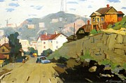 Art Lithographs Prints - Vladivostok Vintage Prints Print by Jake Hartz