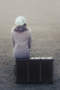 Suitcase Prints - Waiting Print by Joana Kruse