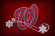 Nationals Baseball Prints - Washington Nationals Print by Joe Hamilton