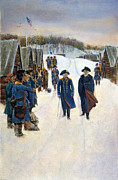 Washington: Valley Forge Print by Granger