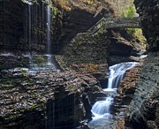 Watkins Glen Framed Prints - Watkins Glen Framed Print by Robert Harmon