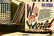 Jukebox Prints - We are the World Print by Paul Ward