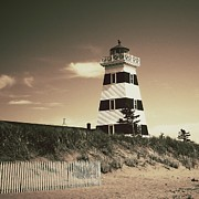 Sanddunes Photo Posters - West Points Light Poster by Meg Lee Photography