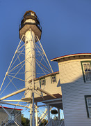 Whitefish Posters - Whitefish Point Lighthouse Poster by Twenty Two North Photography