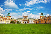 Polish Art - Wilanow Palace in Warsaw Poland by Michal Bednarek