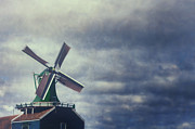 Stormy Sky Prints - Windmill Print by Joana Kruse