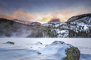 Survival Prints - Winter At Bear Lake Print by Hawaii  Fine Art Photography