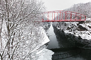 Housatonic River Posters - Winter Solitude Poster by Bill  Wakeley