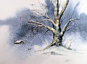 Winter Art - Winter Tree by Sam Sidders