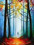 Leonid Afremov - Wise Forest