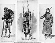 U.s Army Prints - Wounded Knee, 1890 Print by Granger