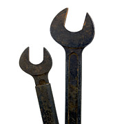 Work Photo Prints - Wrench Print by Bernard Jaubert