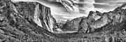 Inspiration Point Photos - Yosemite BW by Chuck Kuhn