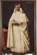 Zurbaran; Francisco De (1598-1664) Posters - Zurbaran, Francisco De 1598-1664. Fray Poster by Everett