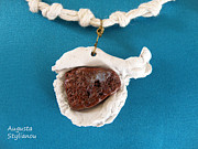 Brown Jewelry - Aphrodite Gamelioi Necklace by Augusta Stylianou