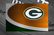 Green Bay Packers Posters - Green Bay Packers Poster by Joe Hamilton