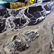 Abstract Pyrography - Iceland Aerial Photo by Gunnar Orn Arnason