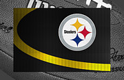 Sports Framed Prints - Pittsburgh Steelers Framed Print by Joe Hamilton