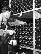 Wine Cellar Photos - Untitled by Underwood Archives