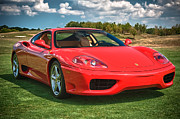 Man Cave Photo Framed Prints - 2001 Ferrari 360 Modena Framed Print by Sebastian Musial