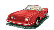 The Rambler Prints - 2006 Studebaker Avanti Print by Jack Pumphrey