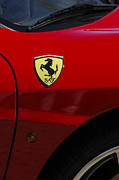 Detail Posters - 2007 Ferrari F430 Spider F1 Poster by Jill Reger
