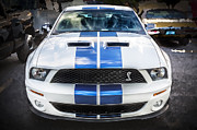 Lounge Prints - 2007 Ford Shelby Mustang GT500 Print by Rich Franco