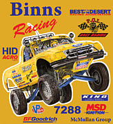 Posters And Posters - 2008 Ford F-150 Racing Poster Poster by Jack Pumphrey