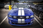 Racer Framed Prints - 2008 Ford Roush Shelby Mustang Stage 2 Framed Print by Rich Franco