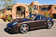 2008 Photos - 2008 Porsche Turbo Cabriolet  by Jill Reger
