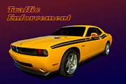 Law Enforcement Prints - 2010 Dodge Challenger Special Traffic Vehicle Print by Tim McCullough
