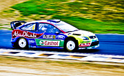 Aotearoa Metal Prints - 2010 Ford Focus WRC Metal Print by motography aka Phil Clark