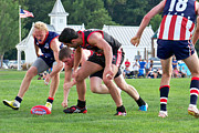 Magpies Photos - 2012 49th Parallel Cup USA Revolution v Canada Northwind by Leo Strawn Jr