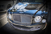Expensive Framed Prints - 2012 Bentley Mulsanne Framed Print by Rich Franco