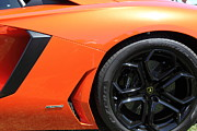 Wingsdomain Art And Photography Acrylic Prints - 2012 Lamborghini Aventador LP-700-4 5D22919 Acrylic Print by Wingsdomain Art and Photography