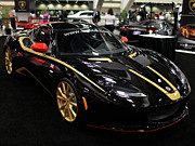 Lotus Racecar Prints - 2012 Lotus Evora - 5D20018 Print by Wingsdomain Art and Photography