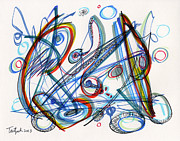 Lynne Taetzsch - 2013 Abstract Drawing #12