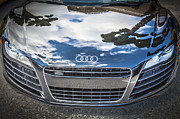 Expensive Framed Prints - 2013 Audi Quattro R8 Framed Print by Rich Franco